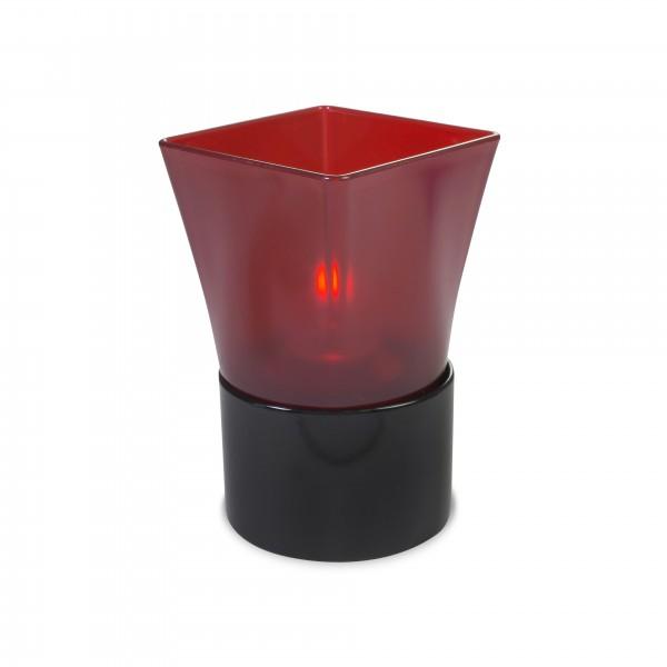 Square Plastic Red